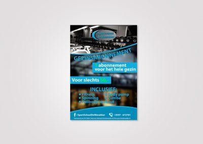 Digitale flyer – Sportschool De Wenakker
