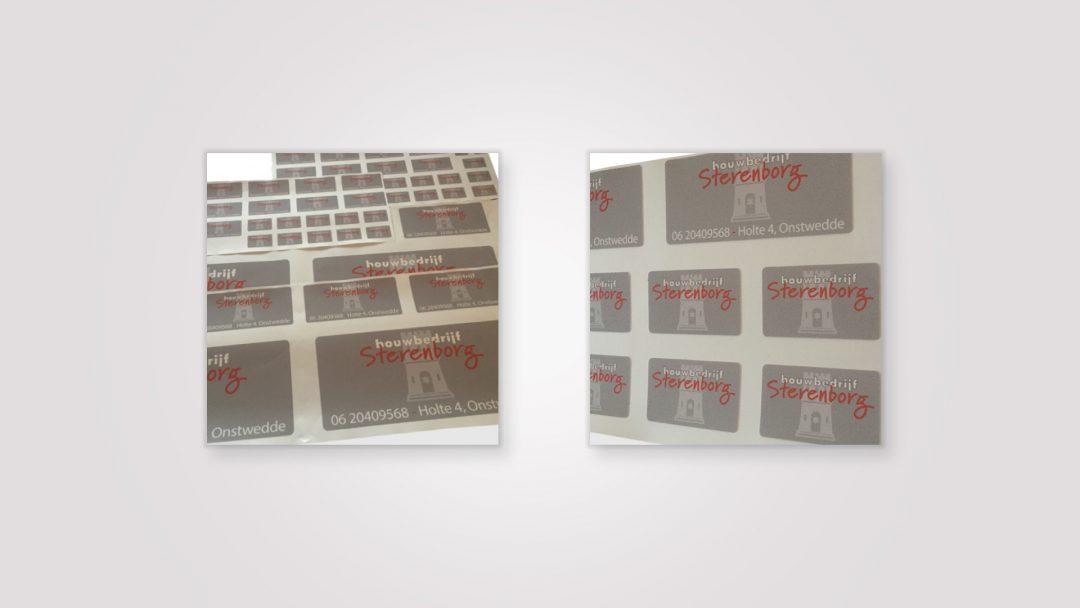 Stickervel – Bouwbedrijf Sterenborg