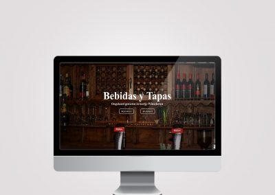 Webdesign – Bebidas Y Tapas Winschoten