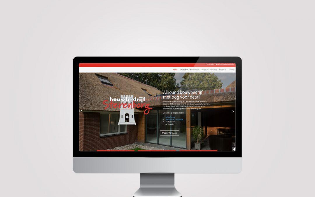 Webdesign – Bouwbedrijf Sterenborg Onstwedde