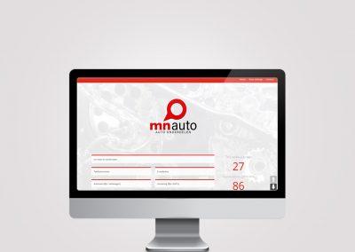 Webdesign – MN auto onderdelen
